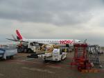 O.TAKUMAさんが、アムステルダム・スキポール国際空港で撮影したオップ! ERJ-190-100 LR (ERJ-190LR)の航空フォト(写真)