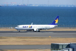timeさんが、羽田空港で撮影したスカイマーク 737-8ALの航空フォト(写真)