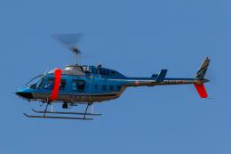 GOOSEMAN777さんが、成田国際空港で撮影した千葉県警察 206L-4 LongRanger IVの航空フォト(写真)