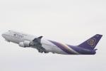 Semirapidさんが、関西国際空港で撮影したタイ国際航空 747-4D7の航空フォト(写真)