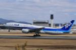 tecasoさんが、伊丹空港で撮影した全日空 777-281/ERの航空フォト(写真)