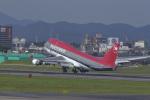 senyoさんが、名古屋飛行場で撮影したノースウエスト航空 747-451の航空フォト(写真)