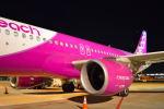 たにかわさんが、成田国際空港で撮影したピーチ A320-214の航空フォト(写真)