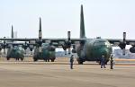 czuleさんが、名古屋飛行場で撮影した航空自衛隊 C-130H Herculesの航空フォト(写真)