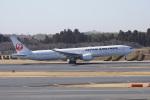 神宮寺ももさんが、成田国際空港で撮影した日本航空 777-346/ERの航空フォト(写真)