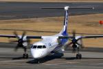 うさぎぱぱさんが、鹿児島空港で撮影したANAウイングス DHC-8-402Q Dash 8の航空フォト(写真)