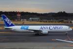 ハンバーグ師匠さんが、成田国際空港で撮影した全日空 767-381Fの航空フォト(写真)