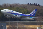 ハンバーグ師匠さんが、成田国際空港で撮影したANAウイングス 737-54Kの航空フォト(写真)