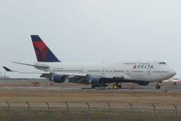 ジェットジャンボさんが、岩国空港で撮影したデルタ航空 747-451の航空フォト(写真)