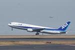 ぽん太さんが、羽田空港で撮影した全日空 767-381の航空フォト(写真)