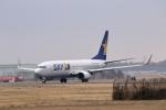 おっしーさんが、茨城空港で撮影したスカイマーク 737-86Nの航空フォト(写真)