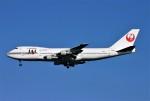 にしやんさんが、羽田空港で撮影した日本航空 747-146B/SRの航空フォト(写真)