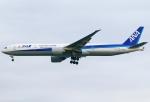 あしゅーさんが、羽田空港で撮影した全日空 777-381/ERの航空フォト(写真)