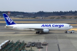 セブンさんが、成田国際空港で撮影した全日空 767-381/ER(BCF)の航空フォト(写真)