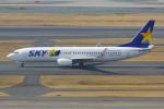PASSENGERさんが、羽田空港で撮影したスカイマーク 737-8FZの航空フォト(写真)