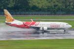 Tomo-Papaさんが、シンガポール・チャンギ国際空港で撮影したエア・インディア・エクスプレス 737-8HJの航空フォト(写真)