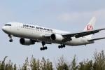 ドラパチさんが、伊丹空港で撮影した日本航空 767-346/ERの航空フォト(写真)