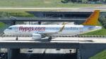 誘喜さんが、パリ オルリー空港で撮影したペガサス・エアラインズ A320-214の航空フォト(写真)