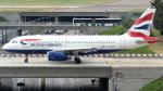 誘喜さんが、パリ オルリー空港で撮影したブリティッシュ・エアウェイズ A319-131の航空フォト(写真)