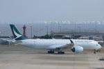 VIPERさんが、関西国際空港で撮影したキャセイパシフィック航空 A350-941XWBの航空フォト(写真)