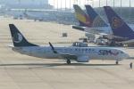 VIPERさんが、関西国際空港で撮影した山東航空 737-85Nの航空フォト(写真)