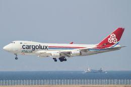 SKY KANSAIさんが、関西国際空港で撮影したカーゴルクス・イタリア 747-4R7F/SCDの航空フォト(写真)