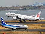 ナナオさんが、羽田空港で撮影した日本航空 777-346/ERの航空フォト(写真)