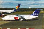 菊池 正人さんが、オスロ国際空港で撮影したエア・ボトゥニア Avro 146-RJ85の航空フォト(写真)