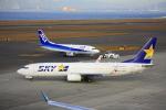 きったんさんが、中部国際空港で撮影したスカイマーク 737-8HXの航空フォト(写真)