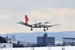 hidetsuguさんが、札幌飛行場で撮影した北海道エアシステム 340B/Plusの航空フォト(写真)