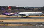RINA-200さんが、成田国際空港で撮影したタイ国際航空 777-3D7の航空フォト(写真)