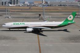 たみぃさんが、羽田空港で撮影したエバー航空 A330-302の航空フォト(写真)
