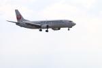 ガス屋のヨッシーさんが、関西国際空港で撮影した日本トランスオーシャン航空 737-446の航空フォト(写真)
