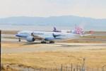 ガス屋のヨッシーさんが、関西国際空港で撮影したチャイナエアライン A350-941XWBの航空フォト(写真)