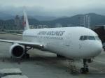 たくらんけさんが、台北松山空港で撮影した日本航空 767-346/ERの航空フォト(写真)