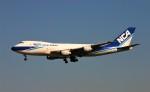 にしやんさんが、成田国際空港で撮影した日本貨物航空 747-2D3B(SF)の航空フォト(写真)