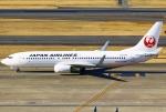 あしゅーさんが、羽田空港で撮影した日本航空 737-846の航空フォト(写真)