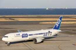 安芸あすかさんが、羽田空港で撮影した全日空 767-381/ERの航空フォト(写真)
