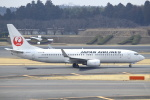セブンさんが、成田国際空港で撮影した日本航空 737-846の航空フォト(写真)