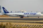 セブンさんが、成田国際空港で撮影した全日空 767-381Fの航空フォト(写真)