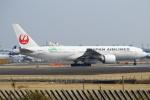 セブンさんが、成田国際空港で撮影した日本航空 777-246/ERの航空フォト(写真)