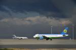 なないろさんが、中部国際空港で撮影したウズベキスタン航空 A320-214の航空フォト(写真)