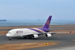 なないろさんが、中部国際空港で撮影したタイ国際航空 A380-841の航空フォト(写真)