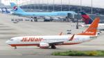 誘喜さんが、関西国際空港で撮影したチェジュ航空 737-8ASの航空フォト(写真)