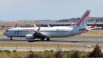 誘喜さんが、マドリード・バラハス国際空港で撮影したエア・ヨーロッパ 737-85Pの航空フォト(写真)