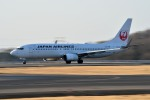 syuさんが、岡山空港で撮影した日本航空 737-846の航空フォト(写真)