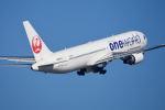 りんきゅーさんが、中部国際空港で撮影した日本航空 767-346/ERの航空フォト(写真)