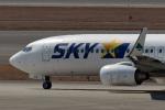 鈴鹿@風さんが、中部国際空港で撮影したスカイマーク 737-82Yの航空フォト(写真)