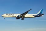 よしぱるさんが、ロンドン・ヒースロー空港で撮影したクウェート航空 777-369/ERの航空フォト(写真)