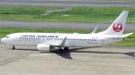 誘喜さんが、羽田空港で撮影した日本航空 737-846の航空フォト(写真)
